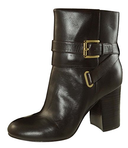 MICHAEL Michael Kors Womens Kendra Ankle Boot Dark Chocolate Leather Size 6 1nQus7