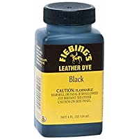Fiebing's Leather Dye w/ Applicator 4 oz. (Black)
