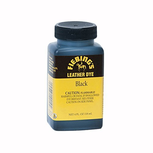 Fiebing's Leather Dye w/ Applicator 4 oz. (Black)
