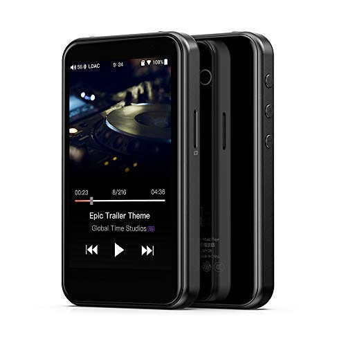 FiiO M6 High Resolution Lossless Music MP3 Player with aptX, aptX HD, LDAC HiFi Bluetooth, USB Audio/DAC,DSD/Tidal/Spotify Support and WiFi/Air Play Full Touch Screen (Mp3 Player Hd)