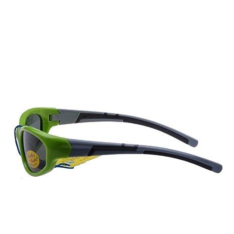 Rongjuyi Gafas de Sol polarizadas for niños TAC de Silicona ...