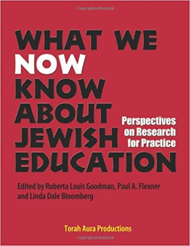 Read What We Now Know About Jewish Education PDF, azw (Kindle), ePub
