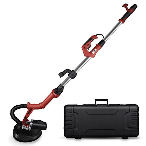 VIVOHOME Foldable 710W Electric Adjustable Variable Speed Drywall Sander with Led Light and Tool Case ETL Safety Standard Certified by VIVOHOME