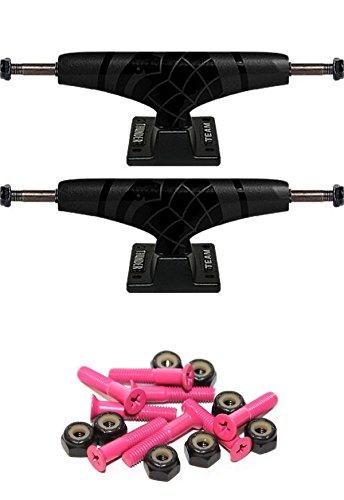 Thunder Sonora Black Trucks (Thunder Trucks Sonora Team 151mm Skateboard Trucks with 1