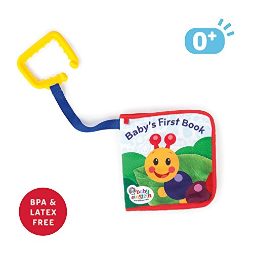 41ar9it9oqL - Baby Einstein Explore and Discover Soft Book Toy