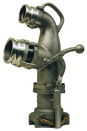Dixon 6400 Aluminum Coaxial Elbow, Petroleum, 4