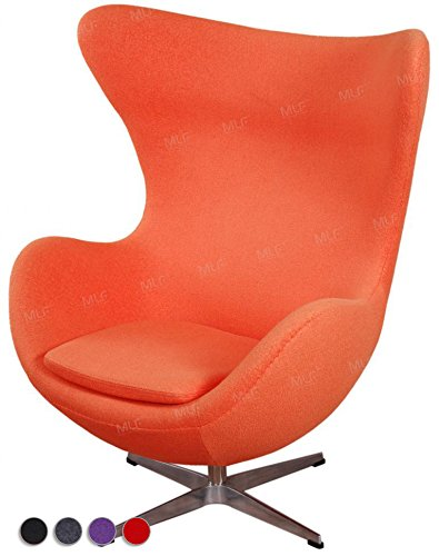 MLFu0026reg; Arne Jacobsen Egg Chair In Premium ...