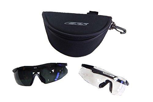 ESS Military Issue ICE 2X Custom Fit Frameless Eye Protectio