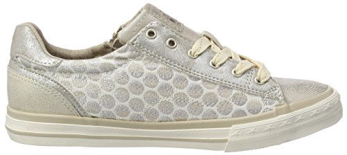 Trainers Metallic Pattern Mustang Polka Womens Dot 1x6XxYaq