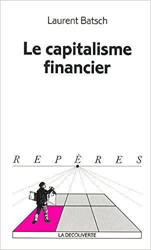 Livres gratuits en ligne Le capitalisme financier epub pdf