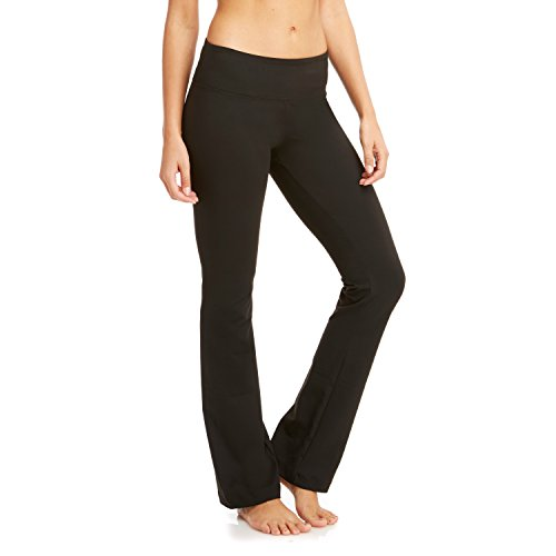 "Balance Sanded Dry-Wik 34"" Inseam Barely Flare Pants Small Black"