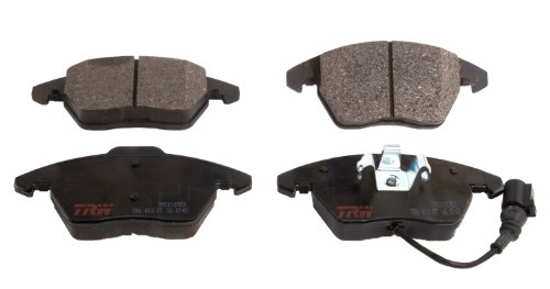 TRW TPC1107ES Premium Ceramic Front Disc Brake Pad Set (Quattro Pad Set Brake)