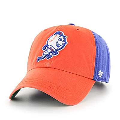"""New York Mets 47 Brand MLB """"Flagstaff"""" Garment Washed Adjustable Hat by 47 Brand"""