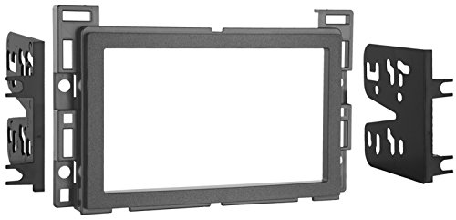 Metra Double DIN Dash Installation Kit for 2010-Up Select GM/Pontiac/Saturn Vehicles (Silver Dash Kit)
