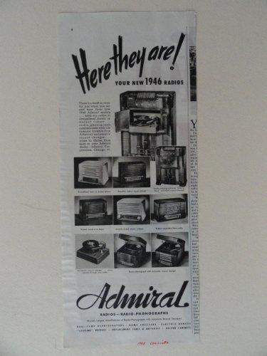 vintage admiral radio - 7