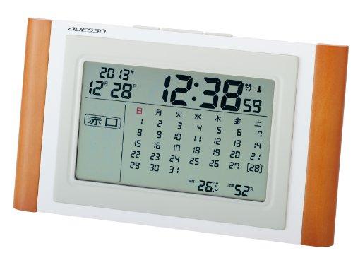 Adesso (ADESSO) calendar radio clock TCA-051