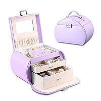 Joyero estilo Princesa Vlando del equipo de diseño de los Países Bajos, fabuloso para niñas (púrpura)