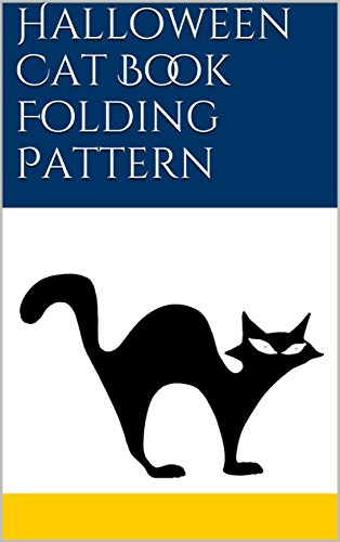 Halloween Cat Book Folding Pattern]()