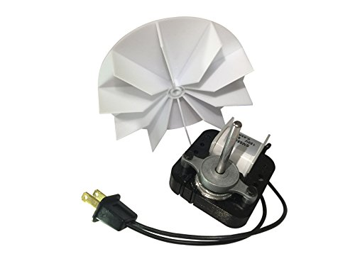 MAYITOP Universal Bathroom Vent Fan Replacement Electric Ventilator Motor 50cfm for Broan Nutone 65100 SM550 C65878 VFM100 (Ventilator Exhaust)