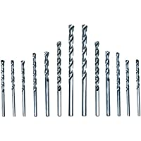 CAMEL BRAND HSS Drill Bit Set for Metal/Wood/Plastic -13 Pieces