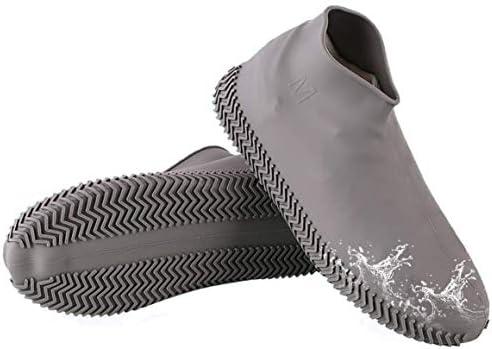 [スポンサー プロダクト][Achruor] シューズカバー 防水 雨 雪 泥除け アウトドア防水靴カバー 滑り止め 携帯便利 梅雨対策 シリコンシューカバー 通勤 通学 自転車 登山 持ち運びが簡単 男女兼用 子供も適用
