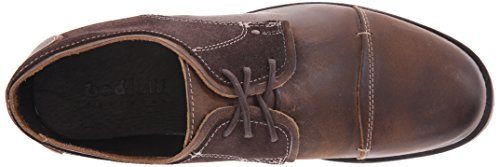 Bed Stu Mens Abeal Oxford Tan / Pelle Scamosciata Marrone Scuro