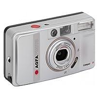 AgfaPhoto - Set fotocamera analogica Compact FF con flash e messa a fuoco integrati
