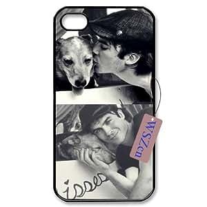 Ian Somerhalder DIY Cell Phone Case for Iphone 4,4S,Ian Somerhalder custom cell phone case
