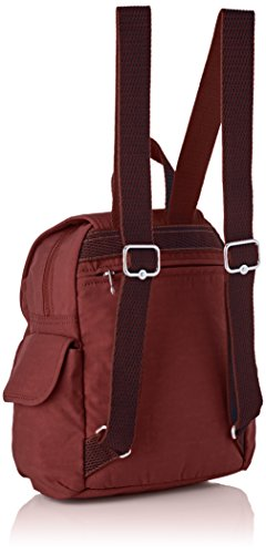 Mini Mochilas C Mujer Pack Burnt City Carmine Marrón Kipling SgwEHH