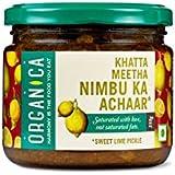 Organica Organic Sweet Lime Pickle, 350g