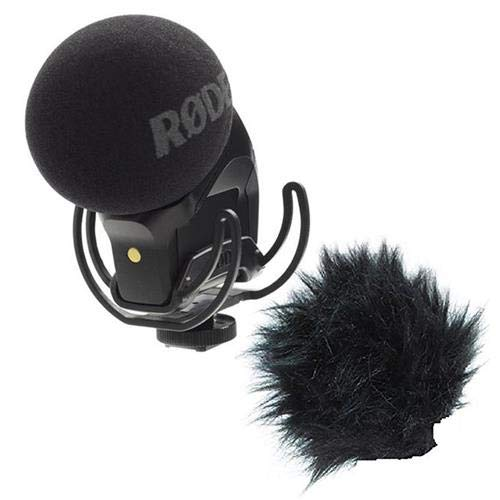 Rode Microphones Stereo VideoMic Pro On-Camera Rycote Microphone - WITH Rode Microphones Rode DeadKitten Windshield for Stereo VideoMic, NT4