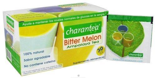 Charantea Bitter Melon Ampalaya Tea - 30 Tea Bags, Pack of 3 by Charantea