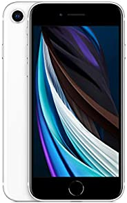 New Apple iPhone SE (64GB, White) [Carrier Locked] + Carrier Subscription [Cricket Wireless] ($10/Month Amazon