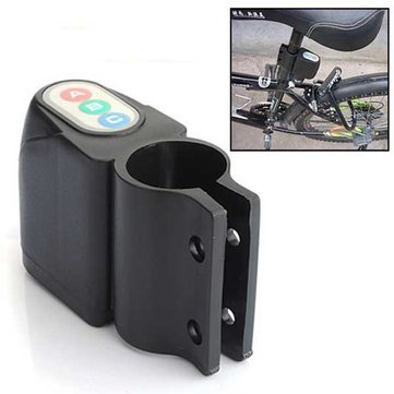 Cycling - Bicycle Motor Bike Security Alarm Sound Cycling Lock - Alert Pedal Clock Wheel System Cycle Consternation Alarum Warning Device - 1PCs