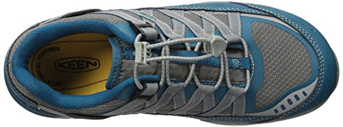 Keen Utility Womens Asheville At ESD Industrial and Construction Shoe, Ink Blue/Eggshell Blue, 8 W US