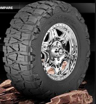 Nitto Mud Grappler Radial Tire - 38/1550R18 128Q