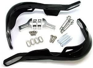 TMS Black Dual Sport Dirt Bike ATV MX Motocross Enduro Aluminum Inside Hand Brush Guards for Yamaha Suzuki