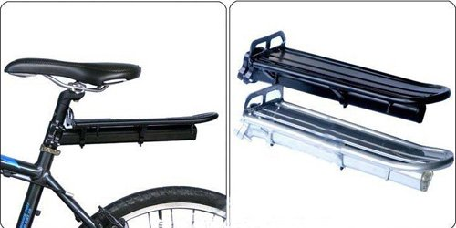 New Mountain Cycling Bike Bicycle Black Rear Carrier Rack Seat Post