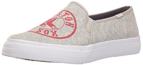 Keds Women's Double Decker Mlb Fashion Sneaker,Red Sox,10 M US