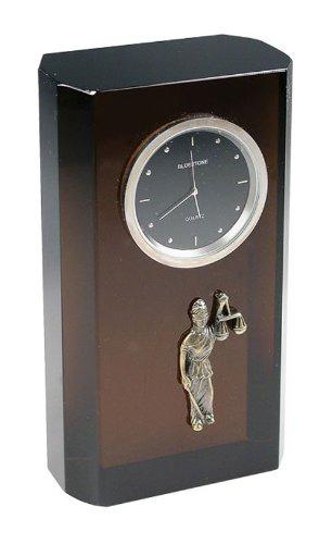60 Justice Crystal Clock black (Bluestone Crystal Clock)
