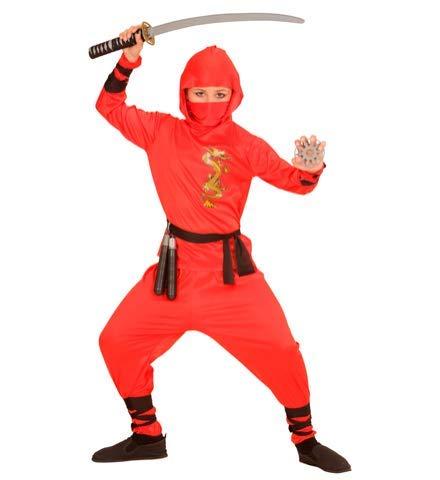 Nerd Clear® Ninja - Disfraz para niños y niñas, Color Negro ...