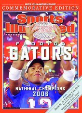 Florida Gators 2006 BCS Football National Champions Sports Illustrated POSTER Chris Leak MVP - Florida Gators 2006 Football