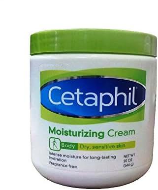 Cetaphil Moisturizing Cream for Dry, Sensitive Skin, Fragrance Free, 20 oz