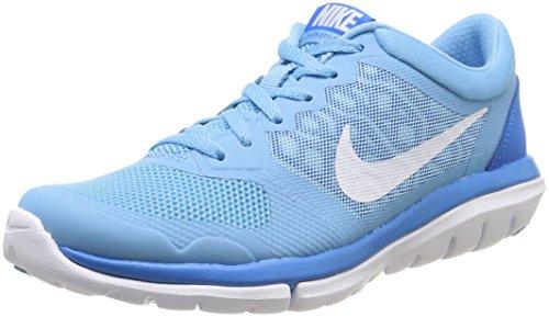 Nike Wmns Flex 2015 Rn -  para hombre Blue - blau (LAKESIDE/WHITE-PHOTO BLUE)