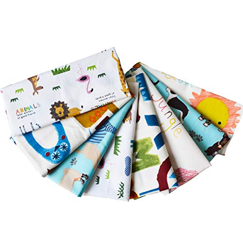 Quilting Fabric UOMNY 8pcs14