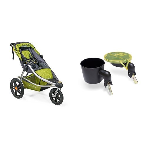 BURLEY SOLSTICE, GREEN WITH SNACK BOWL & CUPHOLDER