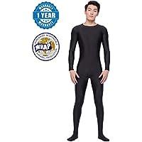 Life In Color Unitard Men Lycra Spandex Bodysuit Long Sleeve Full Bodysuit Zentai Suit