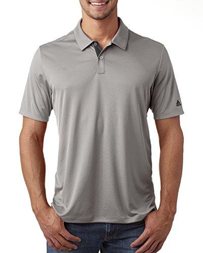 adidas Golf Mens Gradient 3-Stripes Polo A206 -MID GREY 2XL