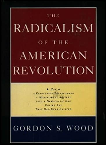 Radicalism of the american revolution thesis personal narrative essay format