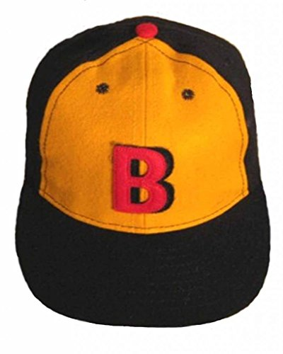 Ideal Cap Co. Bay Parkways Vintage Baseball Cap 1934 7 1/8 Navy/Gold/Black